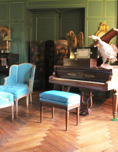 Château Hodebert le piano
