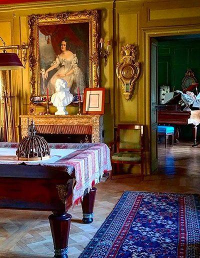 Château Hodebert séjour