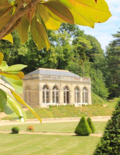 Château Hodebert extérieurs orangerie