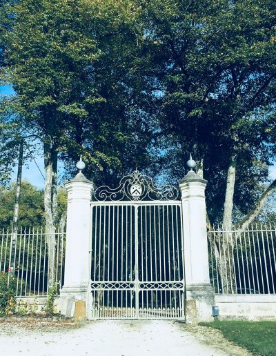 Château Hodebert grille
