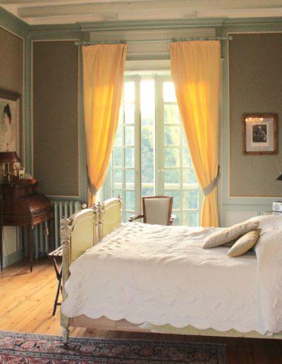 Chambre du Parc - Château Hodebert