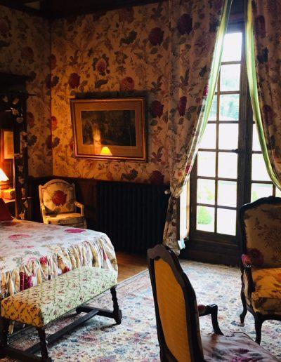 Chambre Pivoine - Château Hodebert