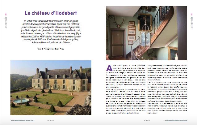 Hodebert à l'honneur dans O mon Château !