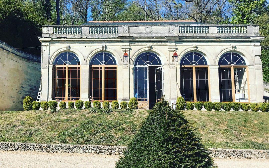 orangerie du château d'Hodebert